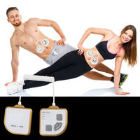 Electronic Pulse Burn Fat Relaxation Massage Tools Therapy Body Care Slimming Abdomen Massage Belt Muscle Massager