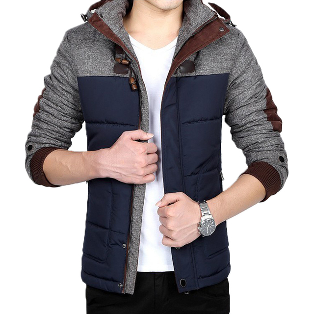 Winter jacket men's warm thick casual hooded coats windbreaker parka mens coats and jackets jaqueta masculina Large size 5XL