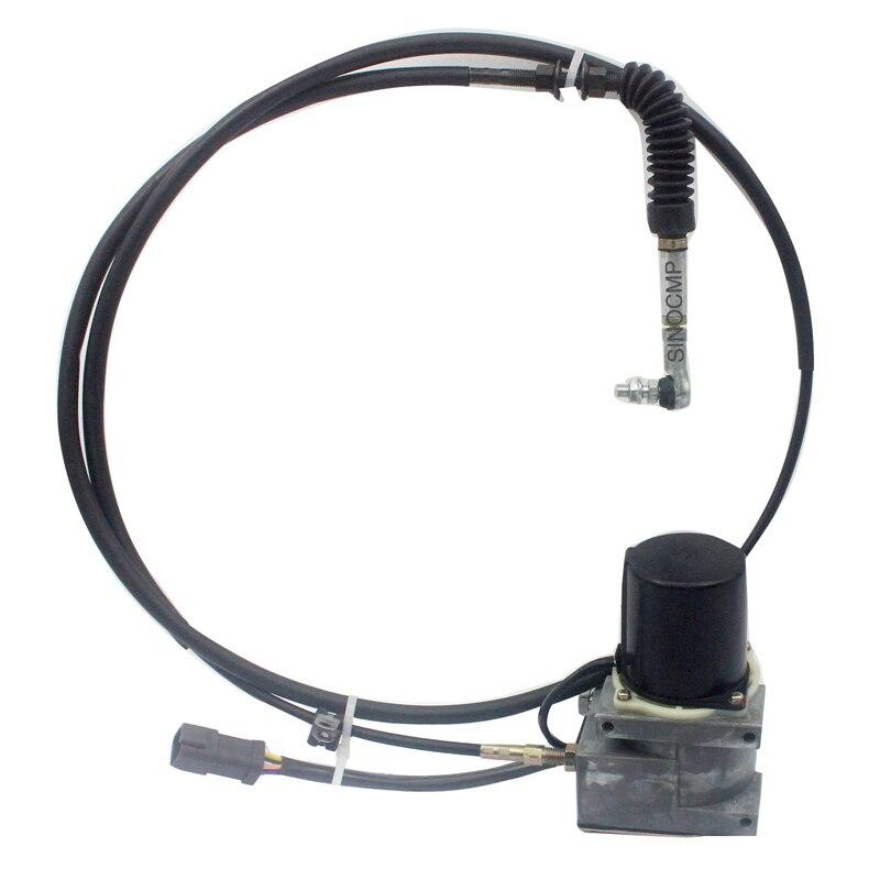 R210LC-7 R140LC-7 R250LC-7 Accel Atuador Do Motor Do Acelerador 21EN-32220 com linha Curta para Hyundai Escavadeira, 6 meses de garantia