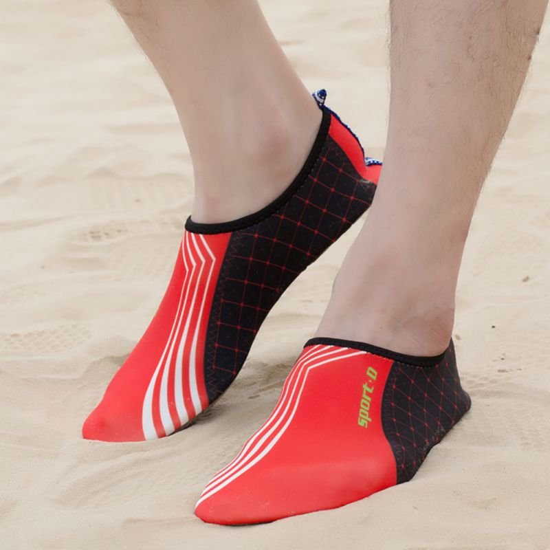 Summer Women Mens Water Shoes Slip On Flexible Pool Beach Swim Surf Yoga Wetshoes Skin Shoes Soft Shoe Ship From US