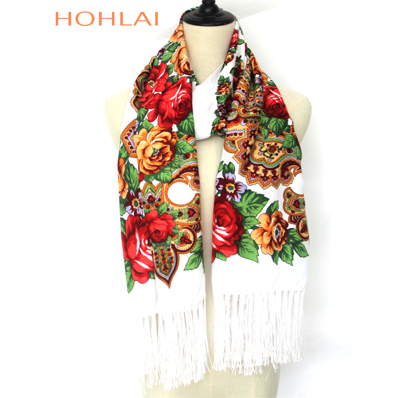2018 New designer brand high quality Female printing long tassel winter   wrapped     scarf   warm shawl   scarves   For women 12 color
