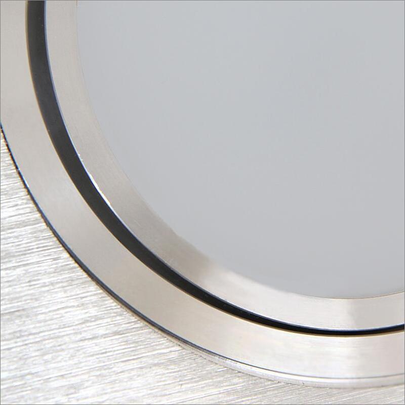 /(EICEO/) Neue LED Platz Ultradünne Embedded Doppelkopf Rechteck Grille Rohr Lampe Wagte Licht Scheinwerfer Reflektor LampAC220V