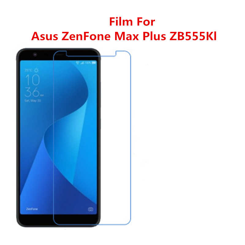 5 Pcs Ultra Thin Clear HD LCD Screen Guard Protector Film With Cleaning Cloth Film For Asus ZenFone Max Plus ZB555Kl.