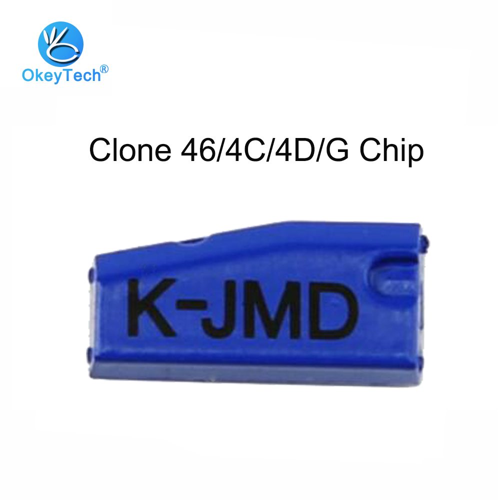 OkeyTech 1pcs/lot K-JMD King Transponder Chip Auto Car Key Chips Replace Clone JMD 4C 4D 46 G Chip For Cbay Hand Baby Machine