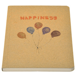 Pintura antiga ballon composities organizador/planejador livro diário para escrever escritório escola artigos de papelaria suprimentos papelaria livro bonita