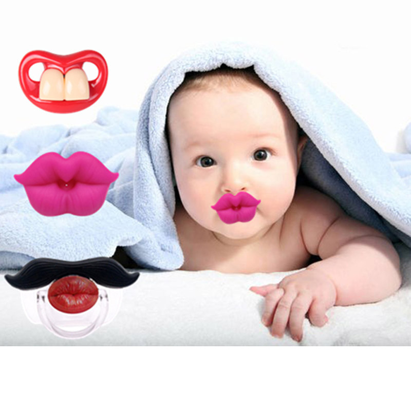 Baby pacifier Fake Nipple Teeth Gel Orthodontic  Teethers Toddler Lovely Silicone Pacifier Dental Care