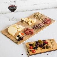YANGGE Hot Selling 2pcs Set Wood Plastic Plates Brand 12 6 Inch Melamine Restaurant Steak Sushi