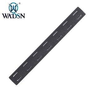 Image 4 - BCM M Lok 레일 패널 키트 (5 pcs) WADSN 전술 Airsoft M LOK 폴리머 핸드 가드 Picatinny 레일 커버 세트 (5 pcs) MP0214