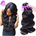 Grade 10A Brazilian Body Wave 4 Bundles 8 - 28 Inch Natural Brazilian Wet And Wavy Hair 100g Good Cheap Weave Soft Human Hair