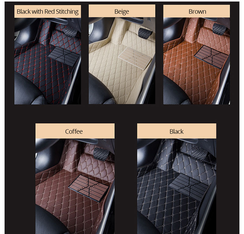 For LHD Hyundai Kona Kauai 2018 2017 Floor Mats Custom Rug Auto Interior Foot Mat Pad Hyundai Encino Car Accessories Car-styling (14)