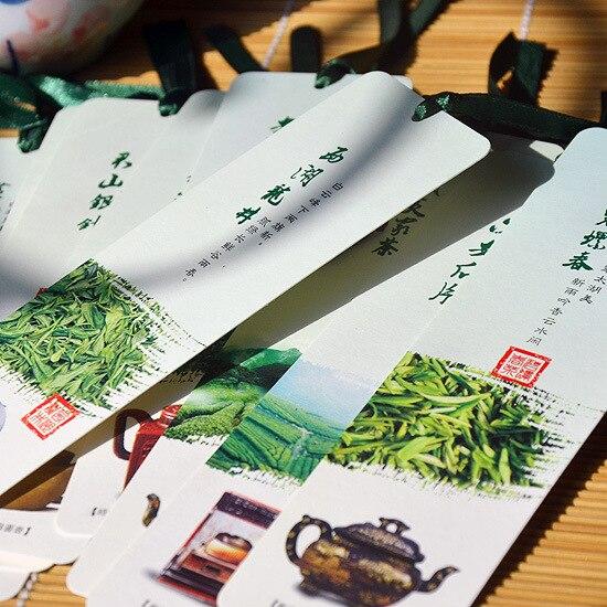 Freeshipping 5 sets ten Chinese tea pot bookmark 10pieces / set elements of tea culture creative gift wholesale ru ru goldfish tea italics opening piece ceramic tea gift sets new
