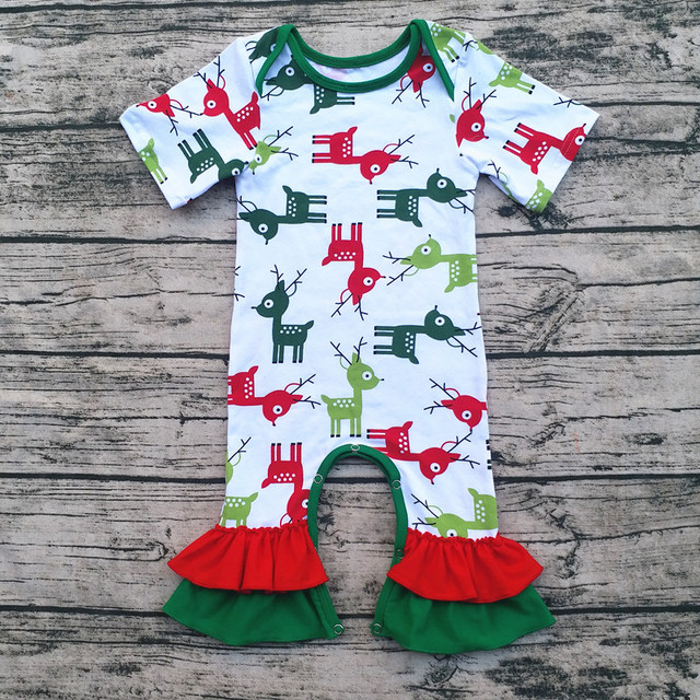 c391cce3069c fashion Infant clothing Newborn Chiristmas boutique wholesale baby ...