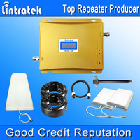 Powerful LCD 3G GSM Cellular Signal Booster Repeater 900MHz 2100MHz UMTS Mobile Cell Phone 3G Amplifier