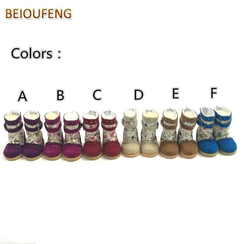 Un par de 1/6 BJD Doll Shoes 5 CM Causal Sneakers Zapatos para BJD - Muñecas y accesorios - foto 3