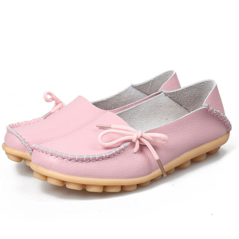 2017 Women Shoes Casual Solid Slip-On Women Flats Loafers Comfortable Women Flat Shoes Colorful lin kingnew women flats shoes fashion pu casual shoes solid slip on ankle shoes retro tasssel loafers thick sole knot lazy shoes