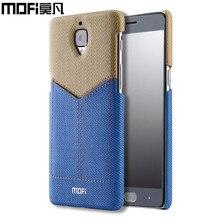 Um mais 3 t case 64 gb 128 gb mofi original capa carteira de um mais 3 case 5.5 polegada de luxo tampa traseira capas oneplus 3 t case três t