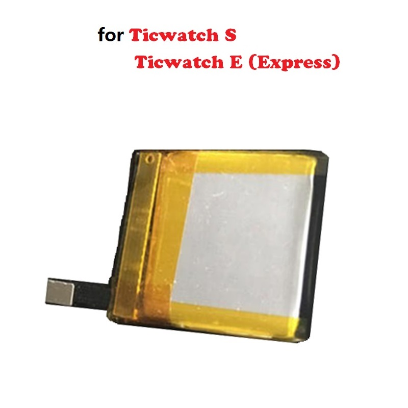 3.7V Battery for Ticwatch 1st Gen S&Ticwatch E(Express) Smart watch Lipo Lithium Polymer Rechargeable Accumulator Replacement