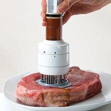 Быстро сделано инъекции тип иглы Мясо Tenderizer профессиональный ручной инъекторы мяса для инъекций свежего мяса кухонные инструменты