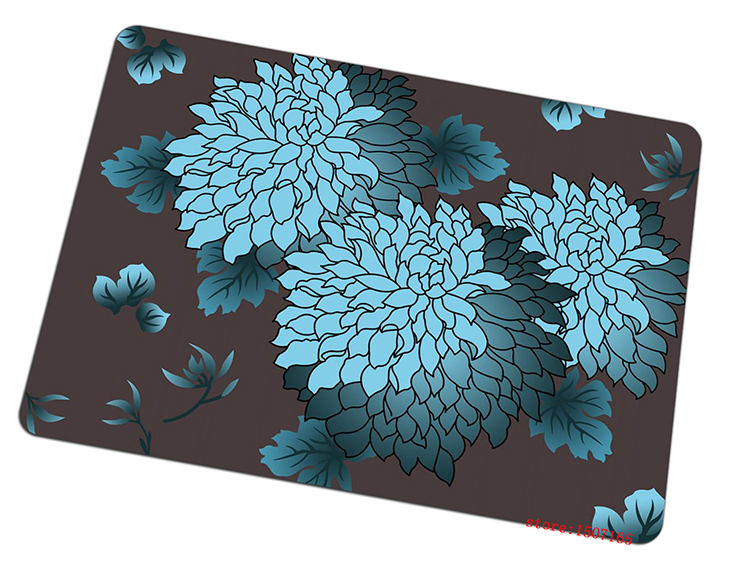 flower art mouse pad carpet gaming mousepad Personality gamer mouse mat pad game computer desk padmouse keyboard large play mats