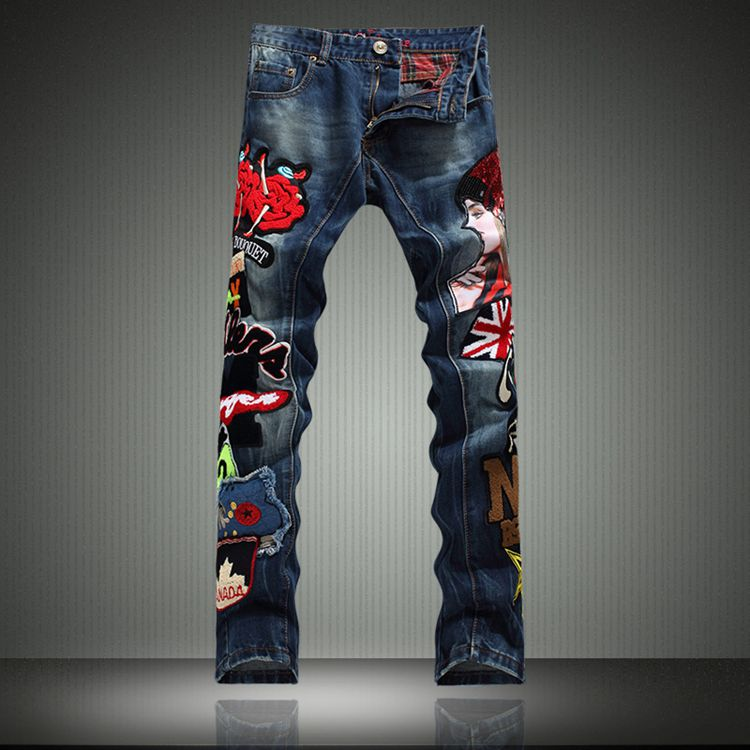 Popular Mens Punk Jeans-Buy Cheap Mens Punk Jeans lots from China ...