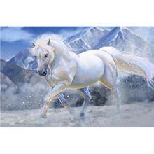 Yikee алмазная живопись полная картина лошадь 5d вышивка мозаика