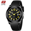 Original TTLIFE Brand Luxury Fashion Men Watch Casual Military Quartz Watch Silicone Strap Waterproof Outdoor Sports Wristwatch