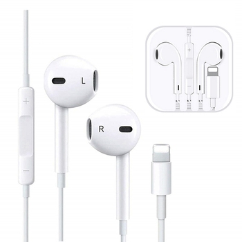 Original In Ear Earphone with Microphone For iPhone 7 8 Plus X XS Max XR Stereo Earphone For Lightning iPhone Sport Earbud #3