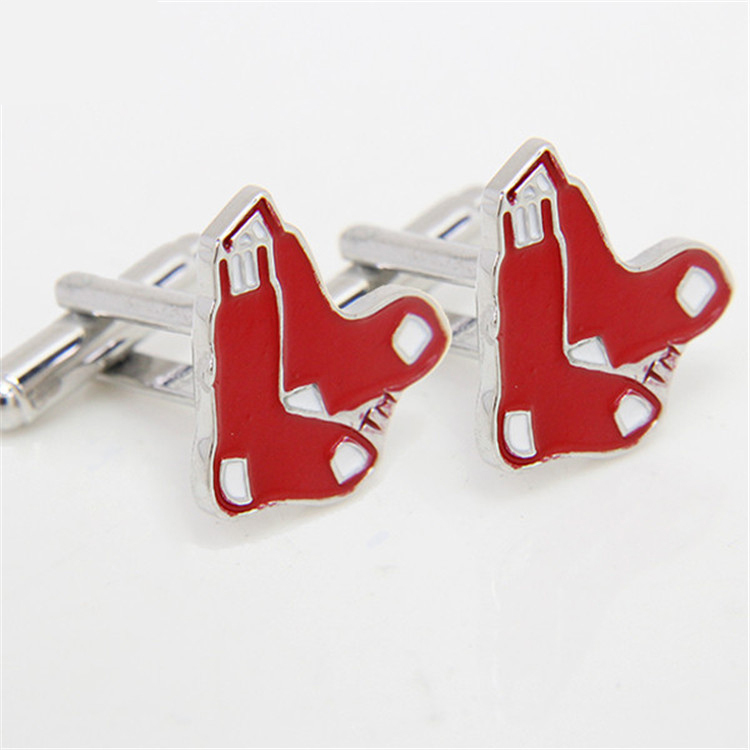 984d44e7b Boston Red Sox Cufflinks Socks Logo Gift brand Cufflink Shirt Tie Hat For Men  Jewelry CF0794 1-in Men's Costumes from Novelty & Special Use on ...