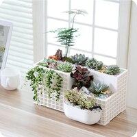 Creative Resin Flower Pots for Succulent Plants Nursery Garden Plants Garden Supplies Home Office Decoration Christmas Gifts
