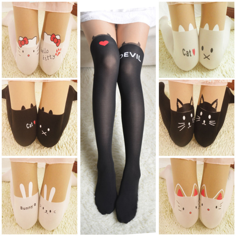 Pantyhose Fancy Dress Stockings Womens Florentine Halloween Black Tights