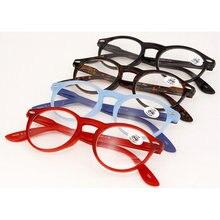 MINCL/маленькая круглая рамка для мужчин и женщин очки для чтения пресбиопические очки винтажные леопардовые очки Рамка круглые очки для чтения lxl