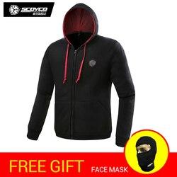 SCOYCO ST01 Hoody Moto Street Hoodie Sport Leisure jacket Motorcycle fashion Racing coat motorbike clothing