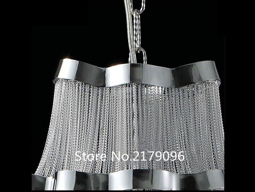 Kronleuchter Mit Langer Kette ~ Club duplex wohnzimmer lichter aluminium lampen moderne luxus hotel