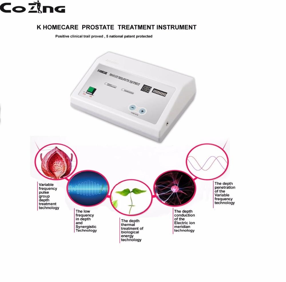 Campo eletromagnético terapia Prostatite dispositivo de tratamento de sintomas ajuda a reabilitação dispositivo massageador de próstata para os homens