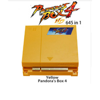New Arrival Original Pandora Box 4 645 in 1 Jamma arcade game cartridge /jamma Multi game board support CRT and LCD for arcade