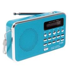 Горячая Распродажа, портативный fm-радиоприемник с Hi-Fi картой, цифровой мультимедийный динамик с MP3 музыкой, громкий динамик, белый, для кемпи...