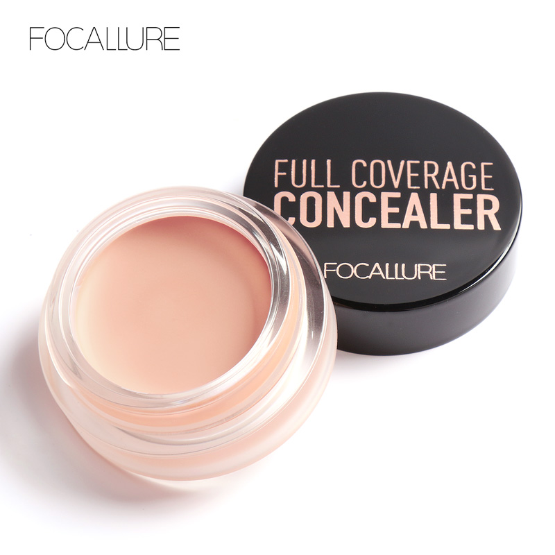 Focallure concealer cream make up primer Base Makeup Concealer contouring makeup Scars Freckles Black Eye Concealer Cream image