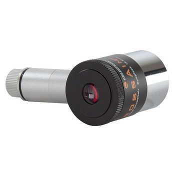 "Celestron 1.25\"" Illuminated Eyepiece 12.5mm Double Line Crosshair Reticle Eyepiece for Astronomy Telescope Monocular Bonocular"