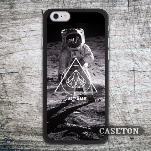 Spaceman With Triangle Diamond Case For iPhone 7 6 6s Plus 5 5s SE 5c and For iPod 5 High Quality Ultra Phone Cases