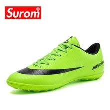 bb49f725 SUROM 34 ~ 45 длинные шип обувь для футбола спортивная обувь для мужчин  Спорт на открытом