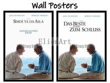 цена на The Bucket List Movie Home Decorative Painting White Kraft Paper Poster 42X30cm