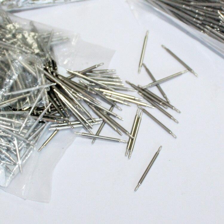 Edelstahl Uhr Band Spring Bars Strap Link-Pins Werkzeug 8/9/10/11/12/ 13/15/17/18/20/21/22/23/24/25mm 1000 teile/satz Zubehör