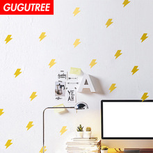 Decorate Home lightning cartoon art wall sticker decoration Decals mural painting Removable Decor Wallpaper LF-2254 new diy wallpaper mangnolia flowers wall painting stickers home decor decoration removable art decals dnj998