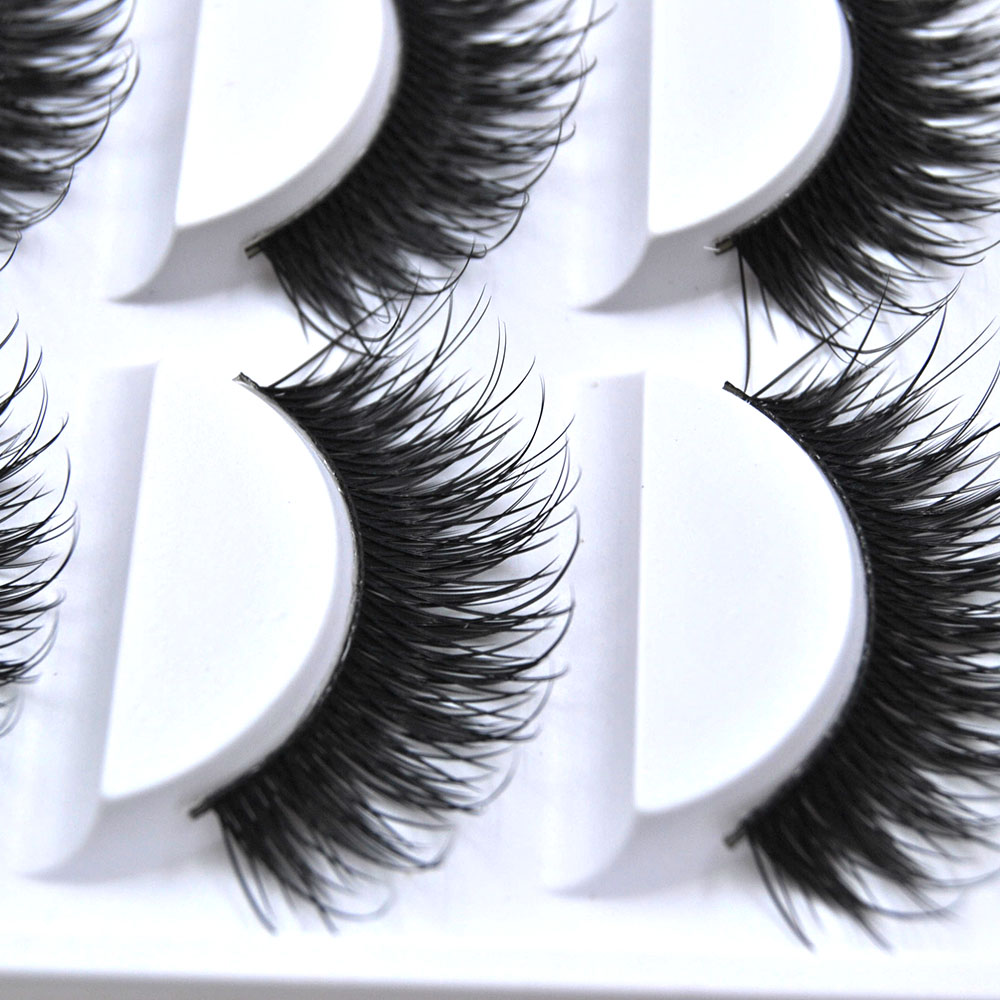 3D False Eyelashes Handmade cilios Mink Eyelashes 5 pairs Long Eyelash Extension Beauty Tool Makeup Lashs Thick Curly Eye Lashes