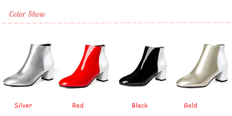 Ankle Boots Cheap Ankle Boots Nasipal Chunky Heels Square Toe Ankle.We  offer the best wholesale price 17ee76b76529