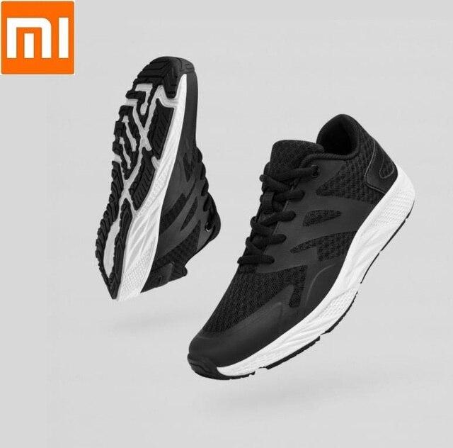 Xiaomi YUNCOO adam kadın Işık uçan rahat ayakkabılar Hafif Nefes Koşu Spor Yürüyüş Spor Ayakkabı