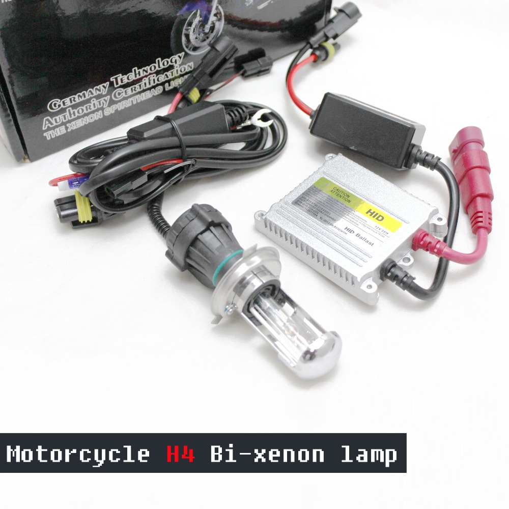 Amicable 2018 New Arrival Top Fashion Motorcycle H4 Bi-xenon Lamp 35w H4 Hi/low Xenon Light With Ballast High Whole Body Kit Superior Performance