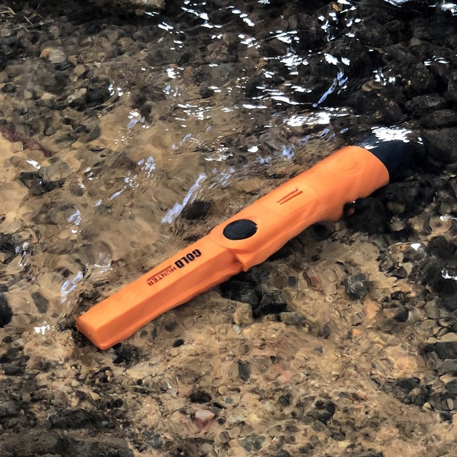 Gold hunter tm waterproof pinpointer gold detector portable metal detector handheld metal detector underground metal detector 4