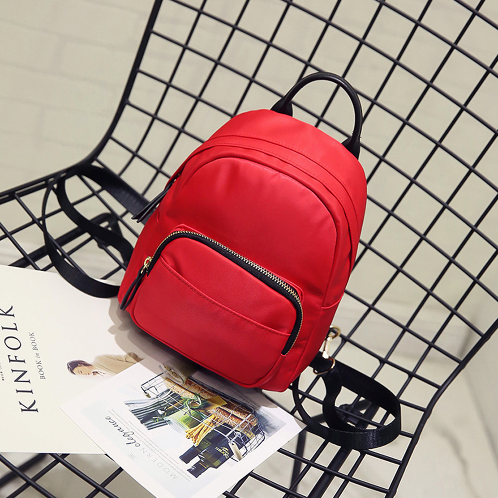 2017 New Spring Fashion Women Multifunction Nylon Mini Backpack Shoulder Bag  Handbag 653a2c85c9d4f