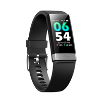 Bakeey V19 ECG+PPG O2 HRV Analysis Tracking Motion Call Reminder IP68 Waterproof Smart Band Anti lost Alarm Fitness Wristbands